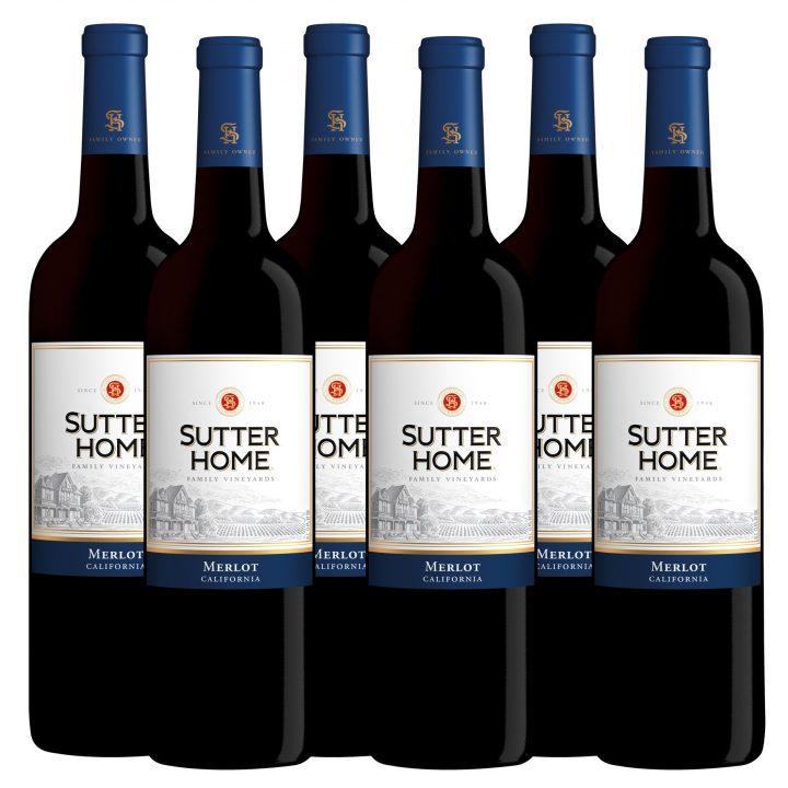 WinePig WinePig Sutter Home Merlot (Case Of 6 Bottles)
