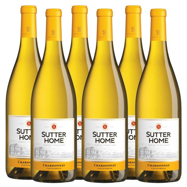 WinePig Sutter Home Chardonnay (Case of 6 bottles)