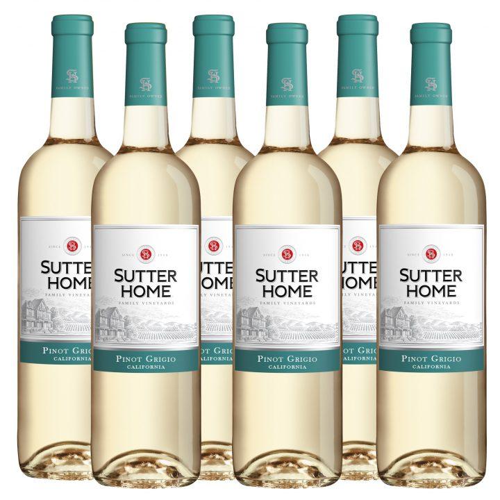 Sutter Home Pinot Grigio (Case of 6 bottles)