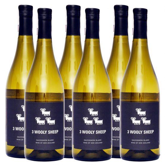 WinePig 3 Wooly Sheep Sauvignon Blanc