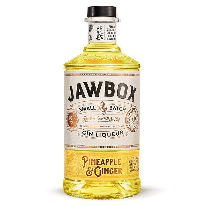 Jawbox Pineapple & Ginger Gin 70cl