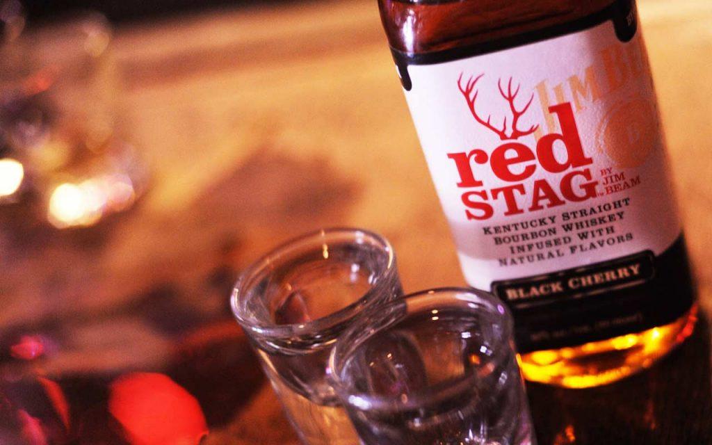 Jim Beam Red Stag Black Cherry Kentucky Straight Bourbon Whiskey