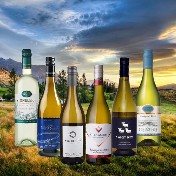 New Zealand Staff Picks Sauvignon Blanc wine case dea