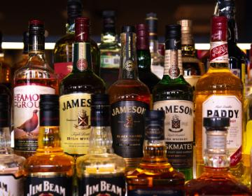 whiskey and spirits