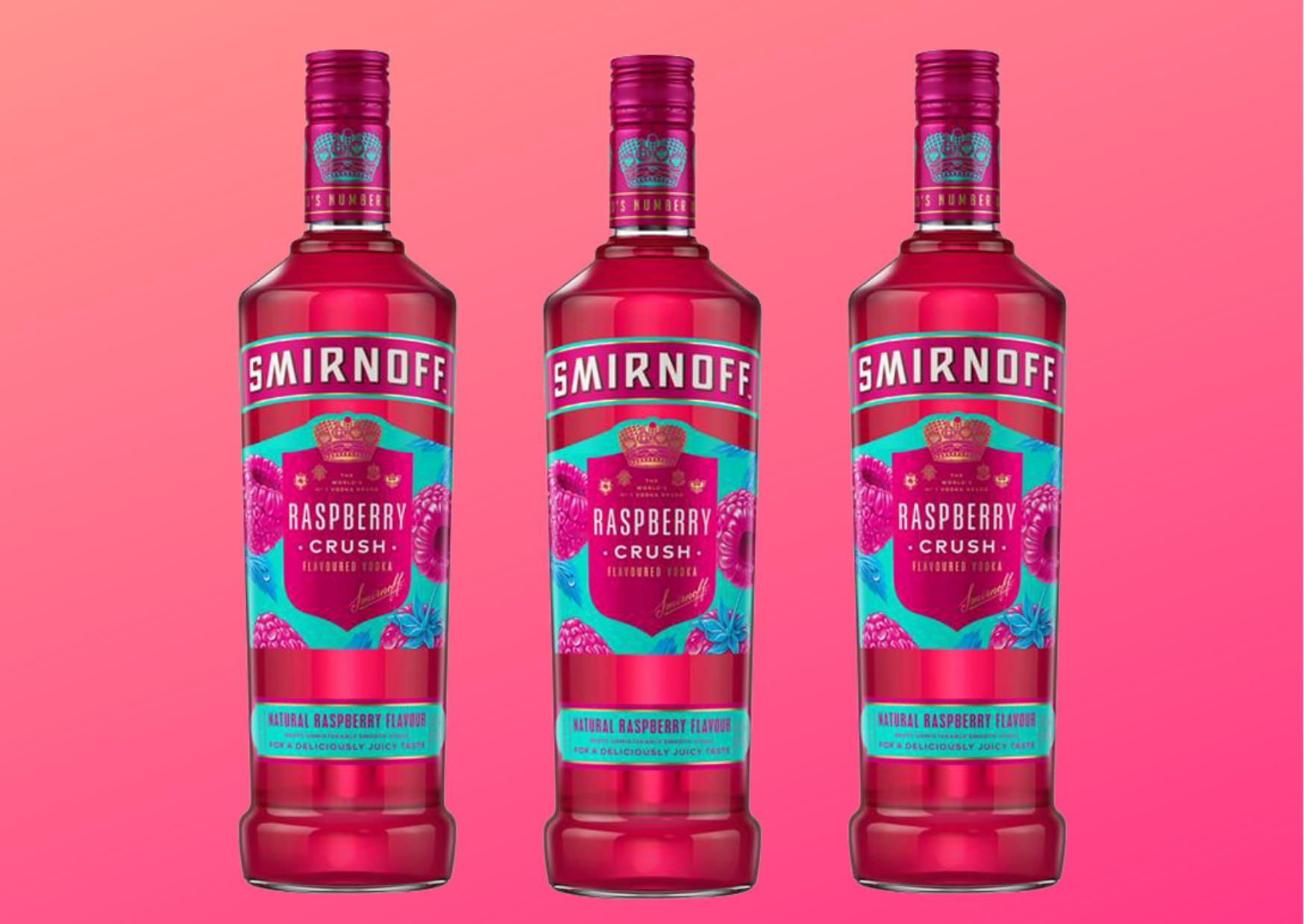 smirnoff raspberry crush